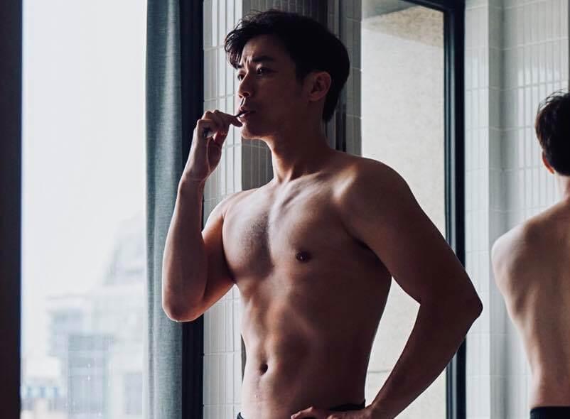 劉傑中:在開拍前三個月去做了增肌減脂