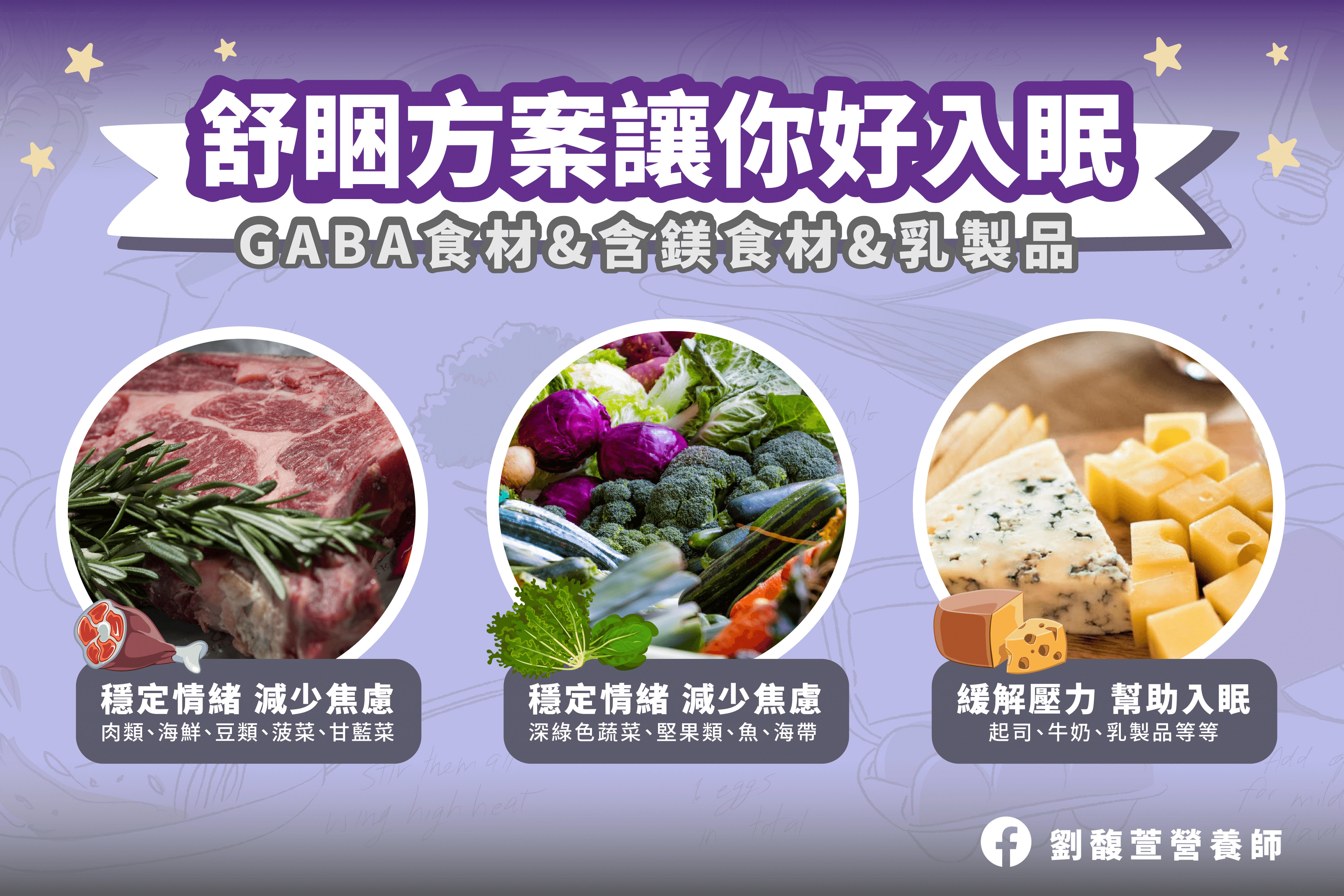 Read more about the article 舒睏方案:3個食物讓你更好入眠