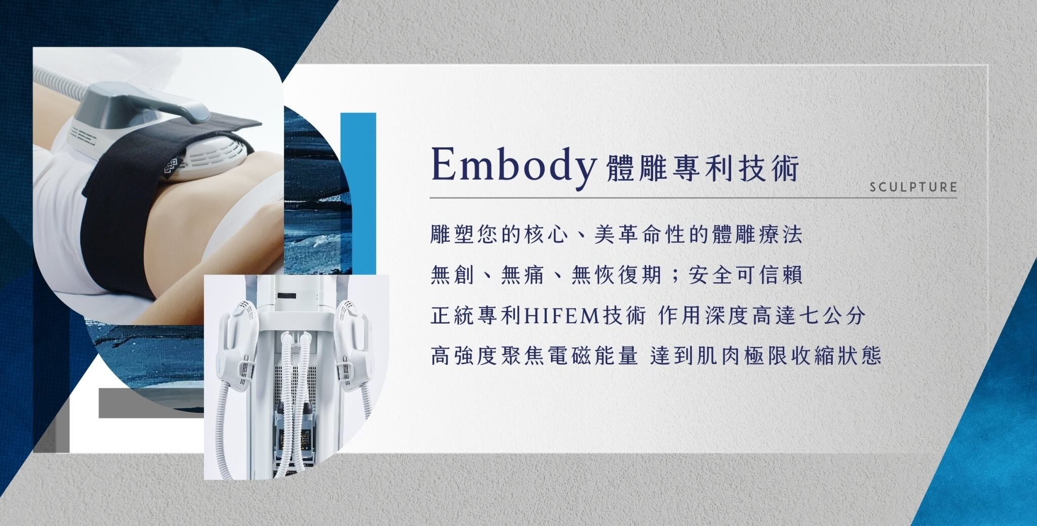 Embody體雕專利技術